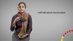 Break the silence on menstruation